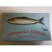 SARDINA JADRANSKA 100G
